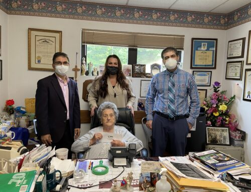 DHC/APPNA Donate to Renowned Health Care Worker Dr. Eula Hall