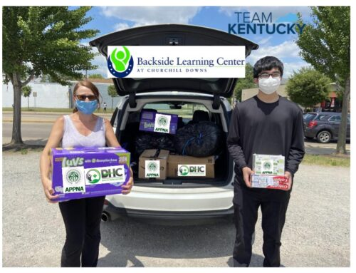 DHC & APPNA Deliver Supplies to Backside Learning Center