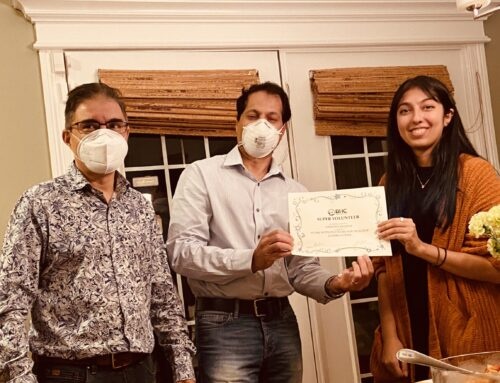 DHC Proudly Recognizes Nashwa Saleem as Super Volunteer