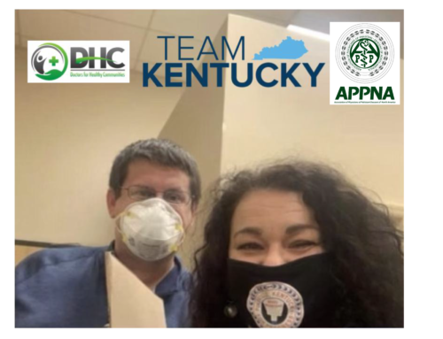 DHC and APPNA Provide PPE to KY District 94