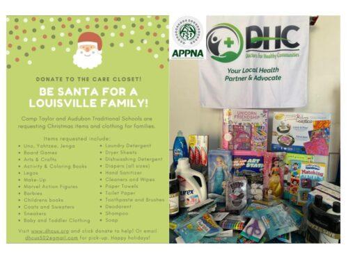 DHC & APPNA Send Supplies to JCPS Schools 'Care Closet'