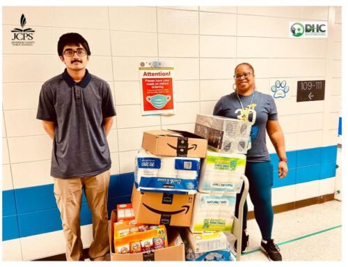 DHC Delivers Supplies and Games to JCPS Schools