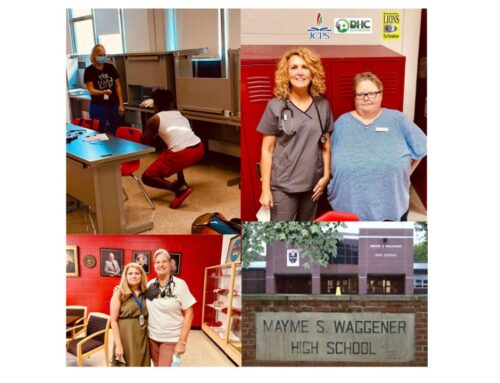 DHC Participated in Physicals at Mayme Waggener High School